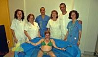"""Salomé Andújar: """"Dar a luz en el agua hace que el parto sea menos doloroso"""""""