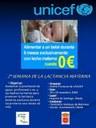 Ubeda acoge actos de la Segunda Semana de la Lactancia Materna de UNICEF